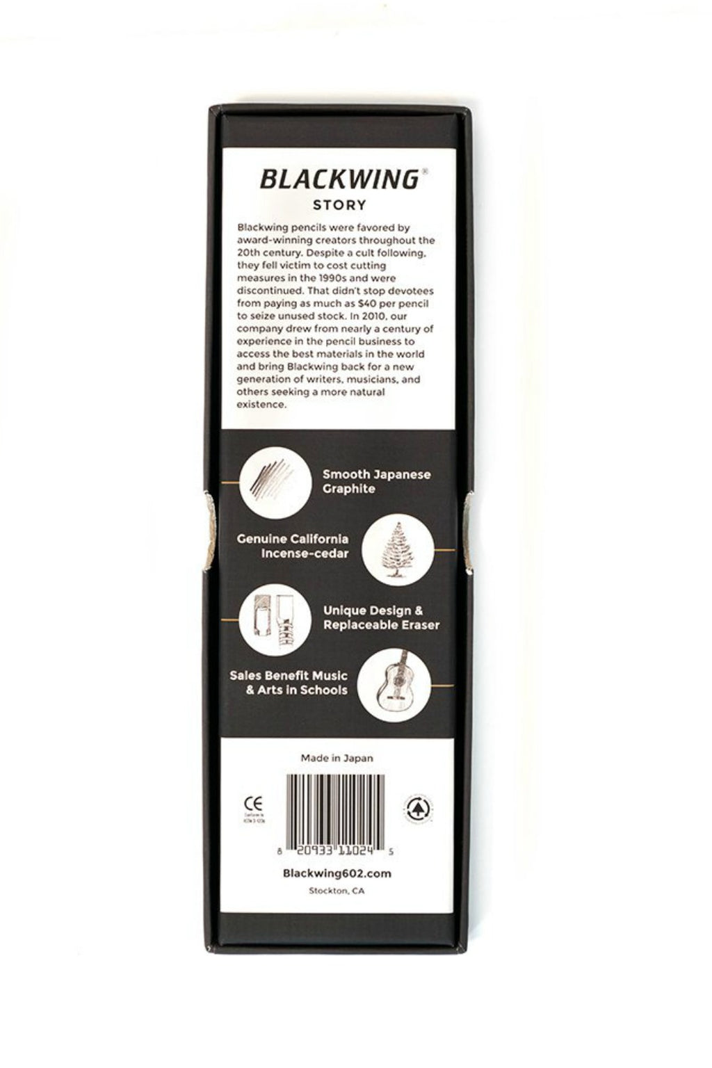 Blackwing 602 Pencils (12 pack) - Pearl White