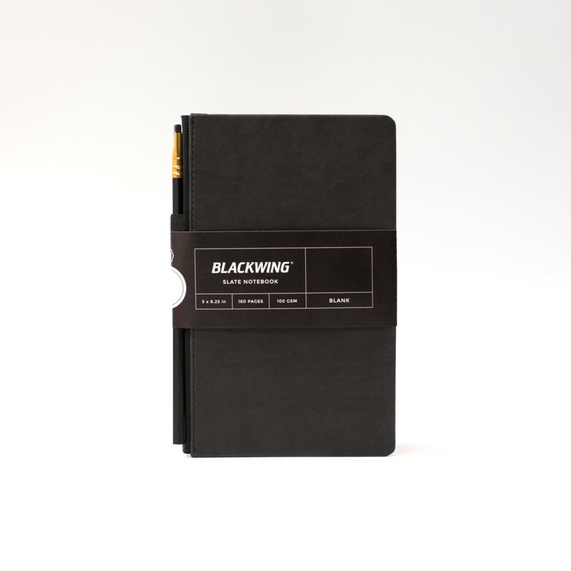 Blackwing 602 Slate Journal in Matte Black - Plain Paper