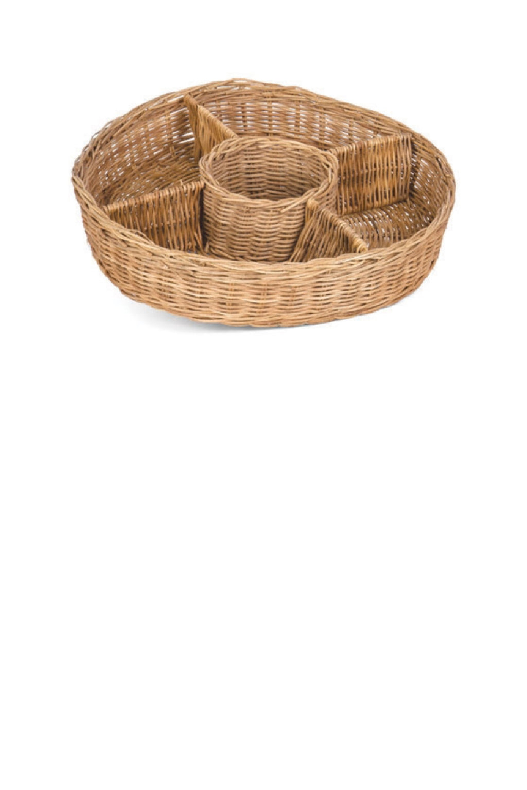 Willow Group Rattan Divided Tray