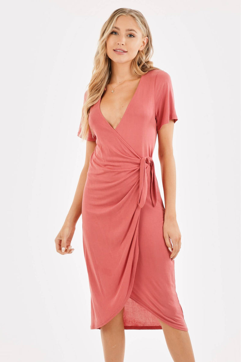 Angelica Wrap Dress