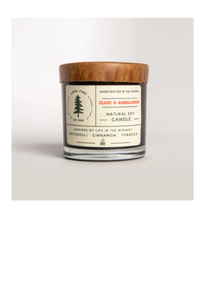 Clove & Sandalwood Soy Candle