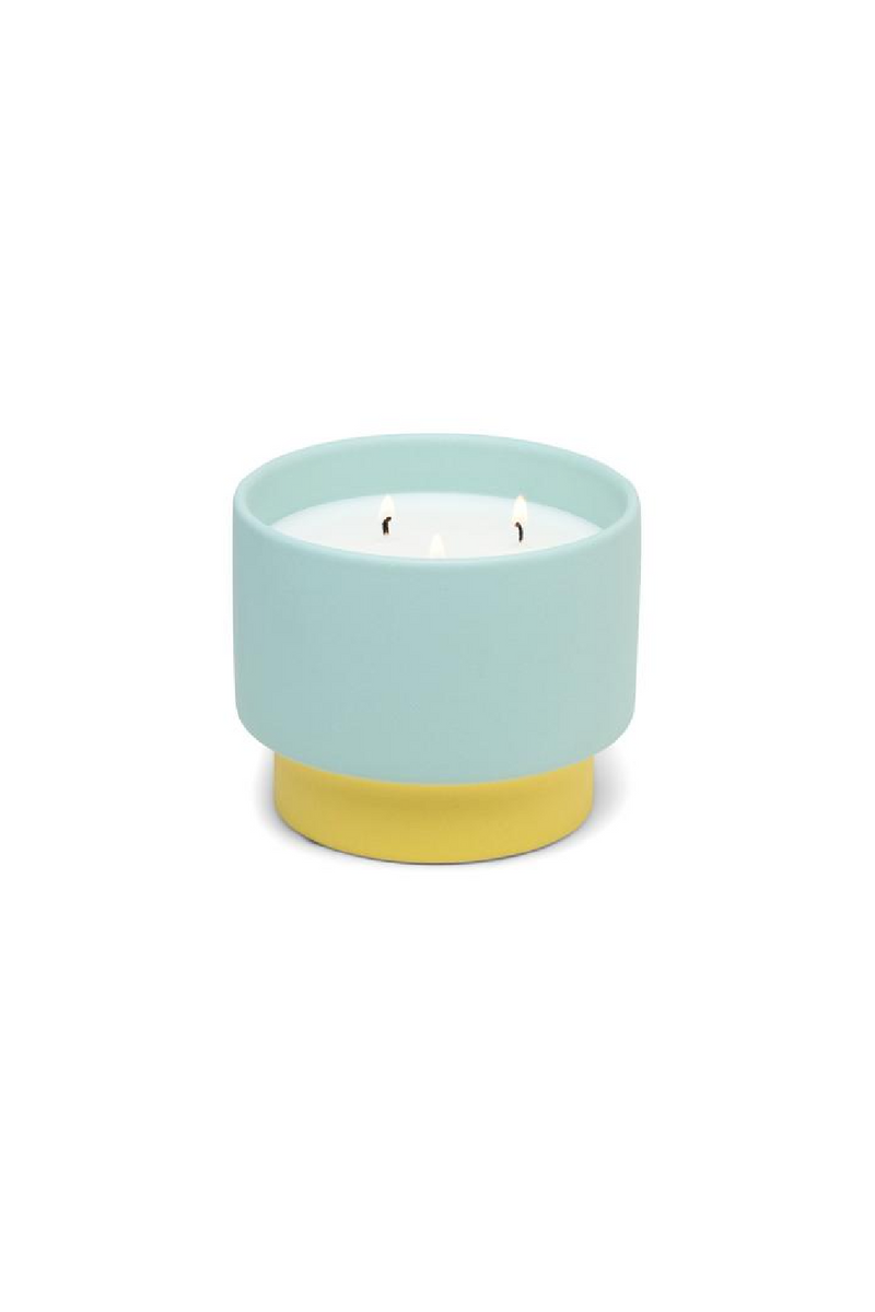 Paddywax Color Block Candle - Minty Verde