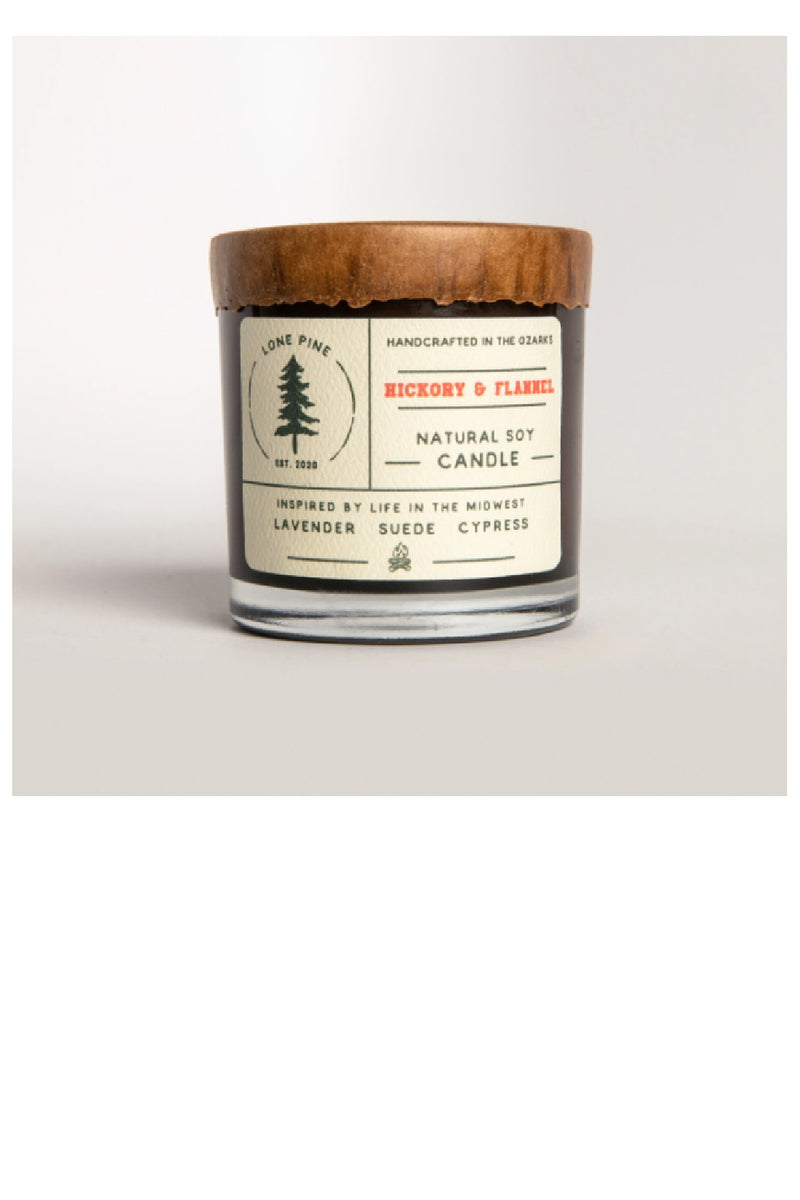 Hickory & Flannel Soy Candle