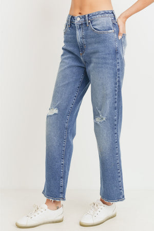 Just Black Denim High Rise Traditional Denim