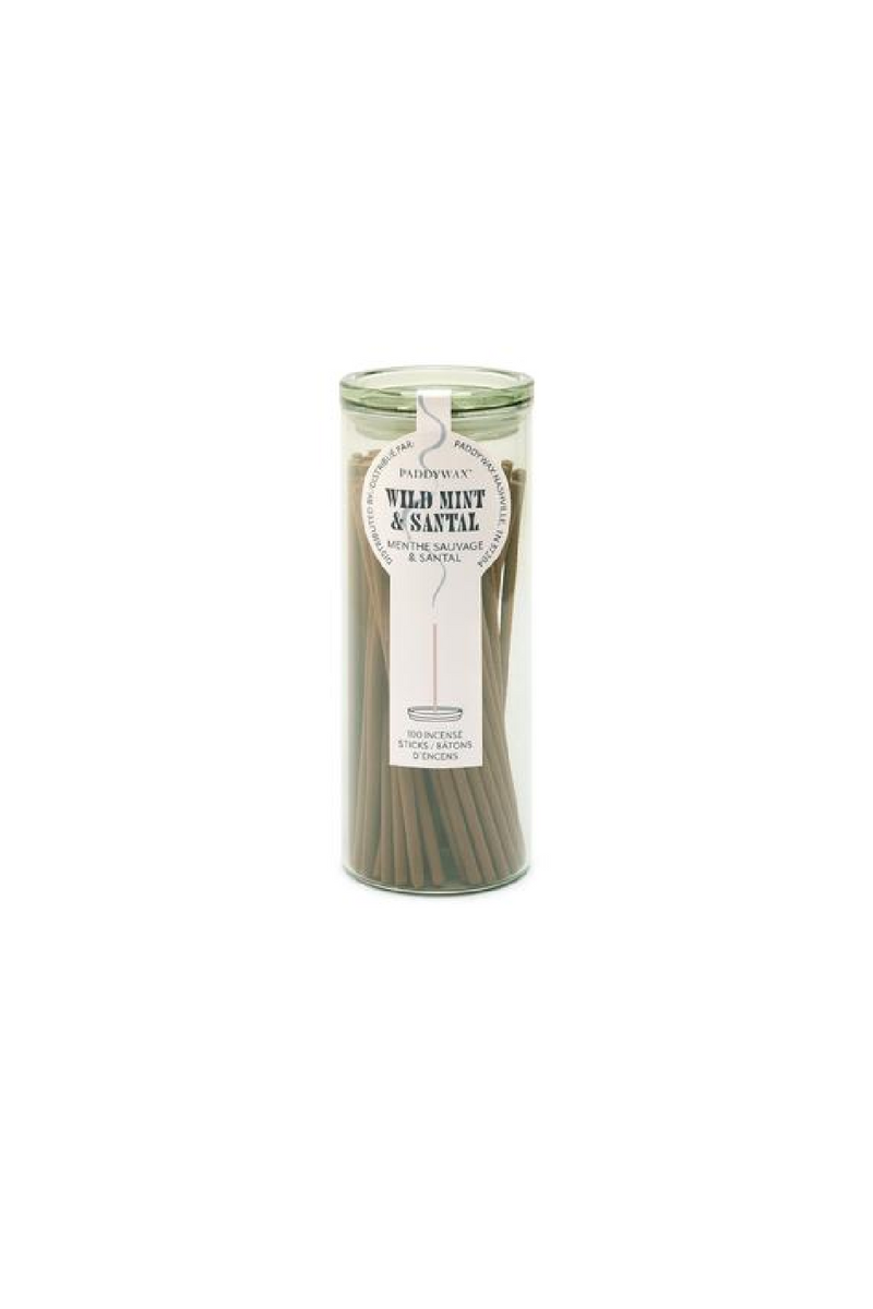 Paddywax Haze Incense - Wild Mint & Santal