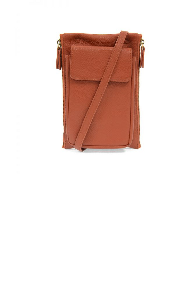 Mary Multi Pocket Crossbody - Spice
