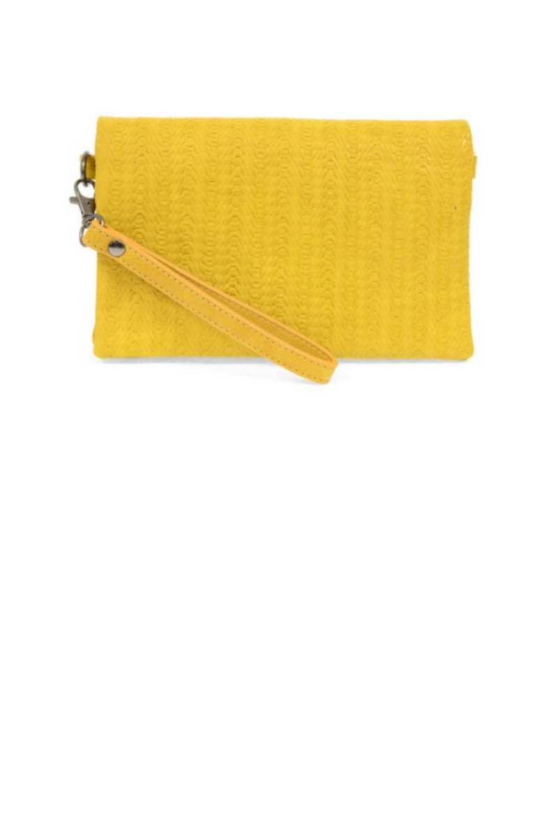Kate Crossbody Clutch - Straw