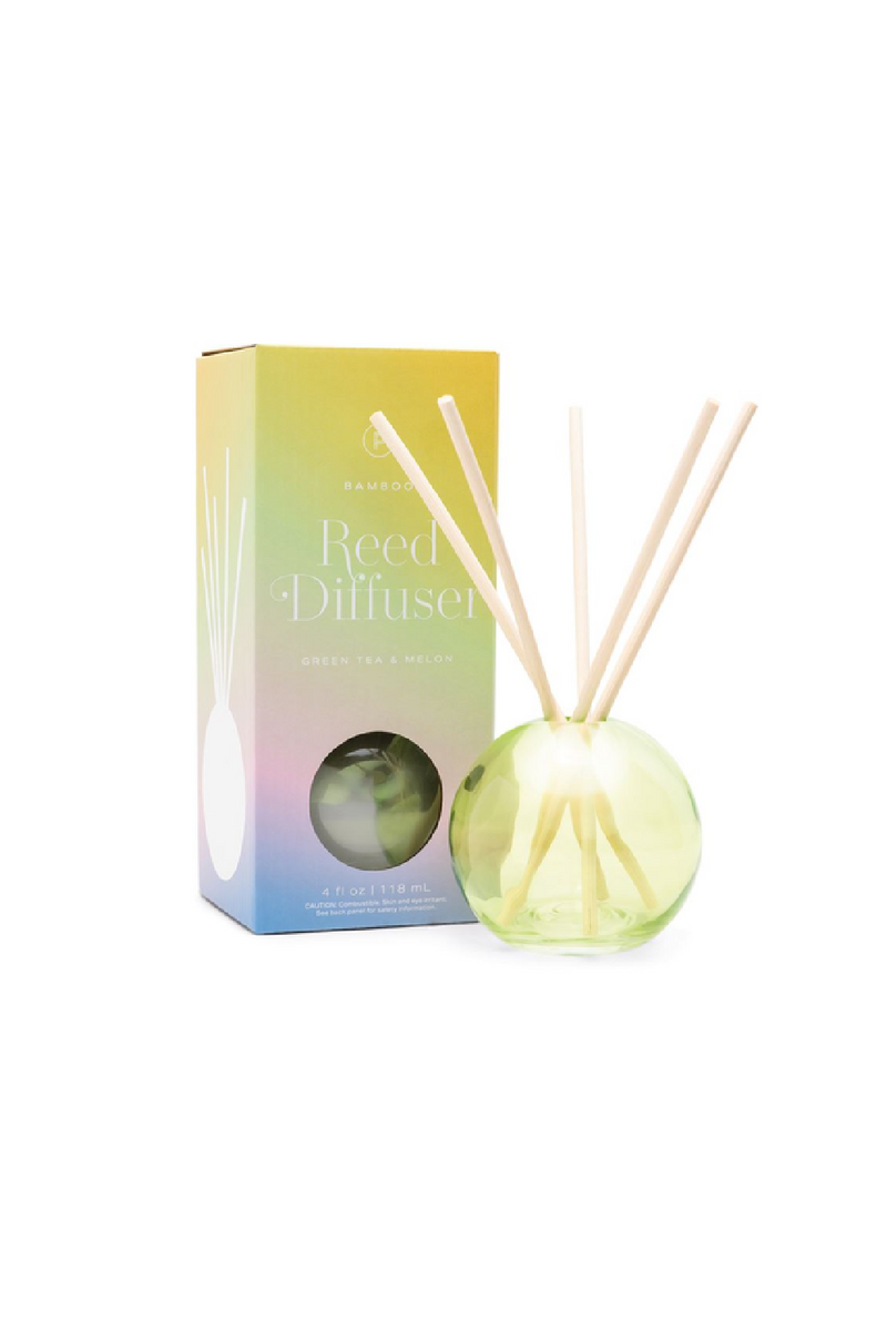 Paddywax Realm Diffuser - Bamboo, Green Tea & Melon