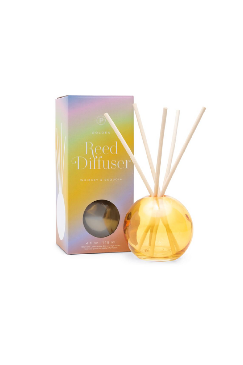 Paddywax Realm Diffuser - Golden Whiskey & Sequoia