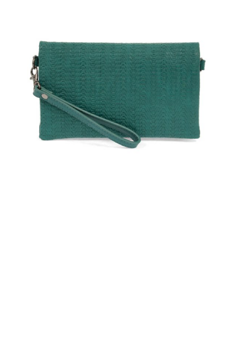 Kate Crossbody Clutch - Turquoise