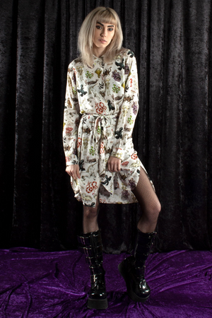Pretty Snake Freak of Nature Shirt Dress