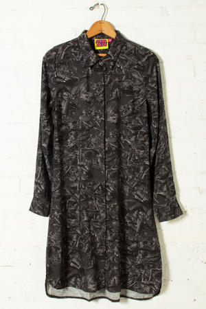 Pretty Snake Fossilized Shirt Dress