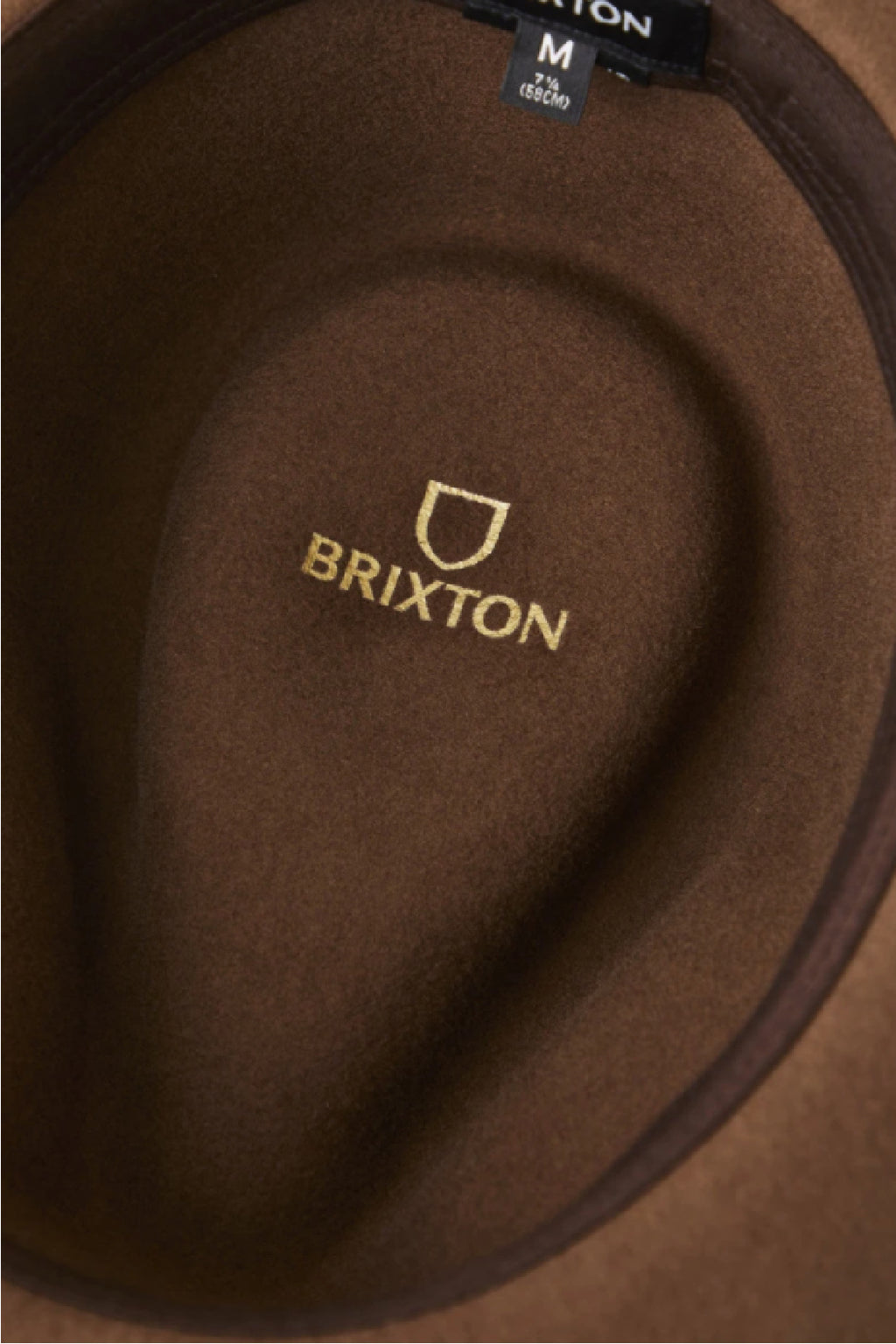 Brixton Messer Fedora in Toffee