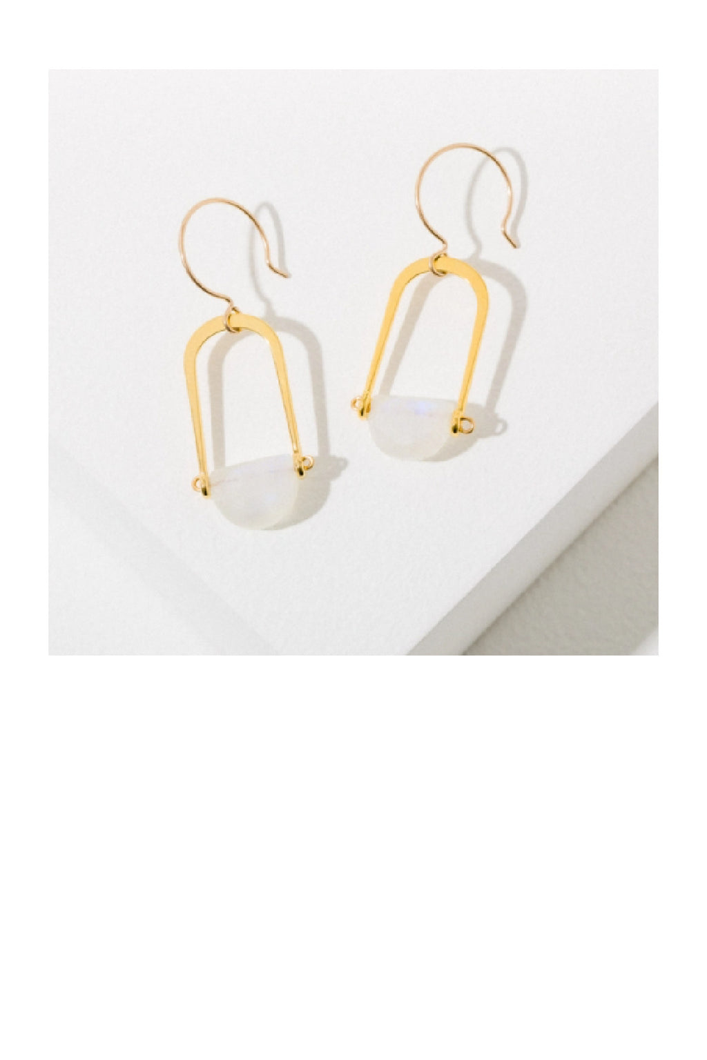 Larissa Loden Teara Earrings - Moonstone