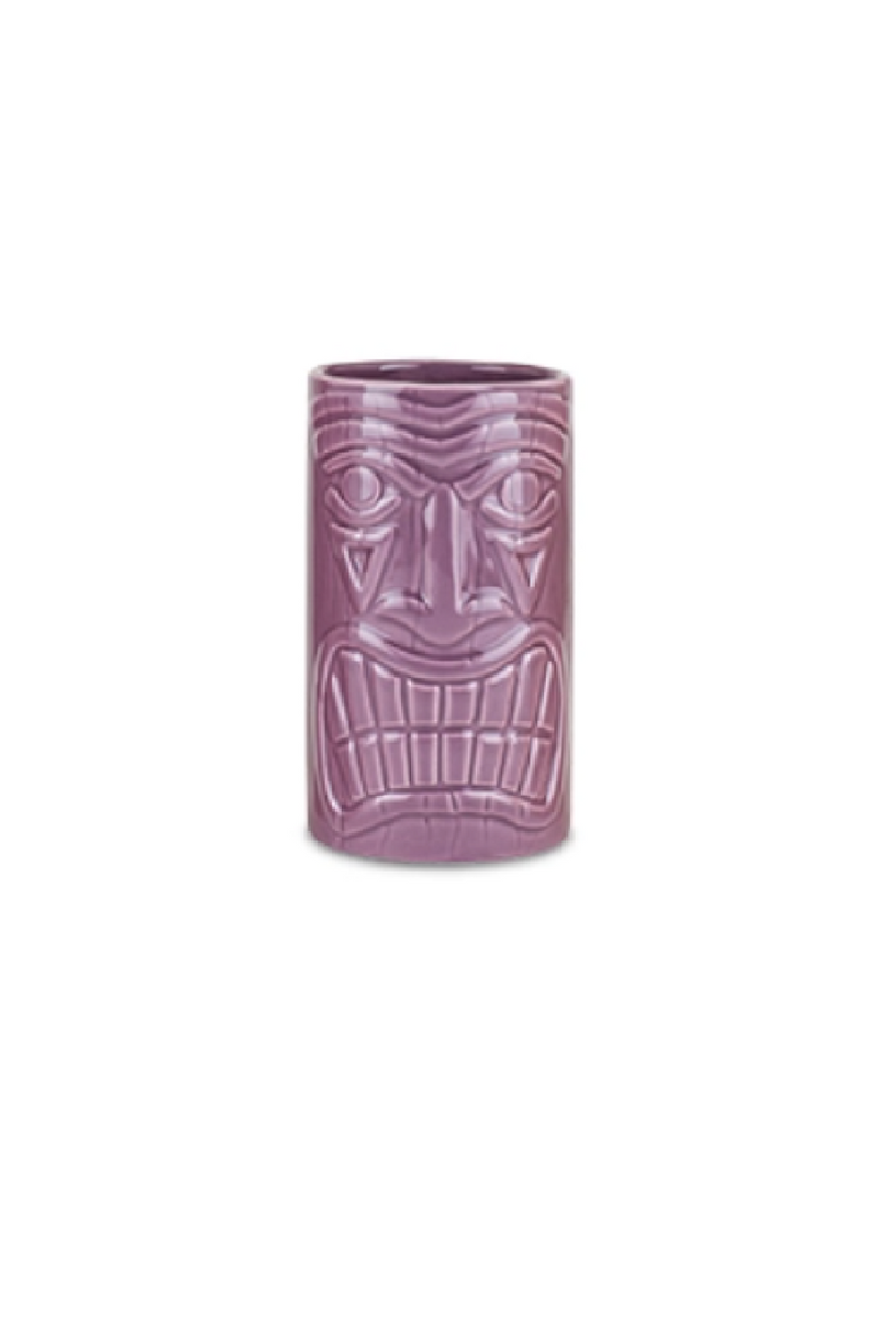 Ceramic Tiki Mug - Purple