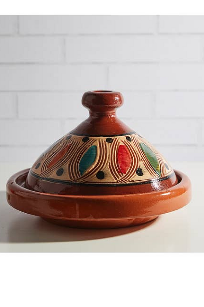Moroccan Cooking Tagine for Two-Traditional