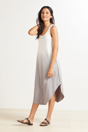 Z Supply Reverie Organic Scoop Dip-Dye Dress