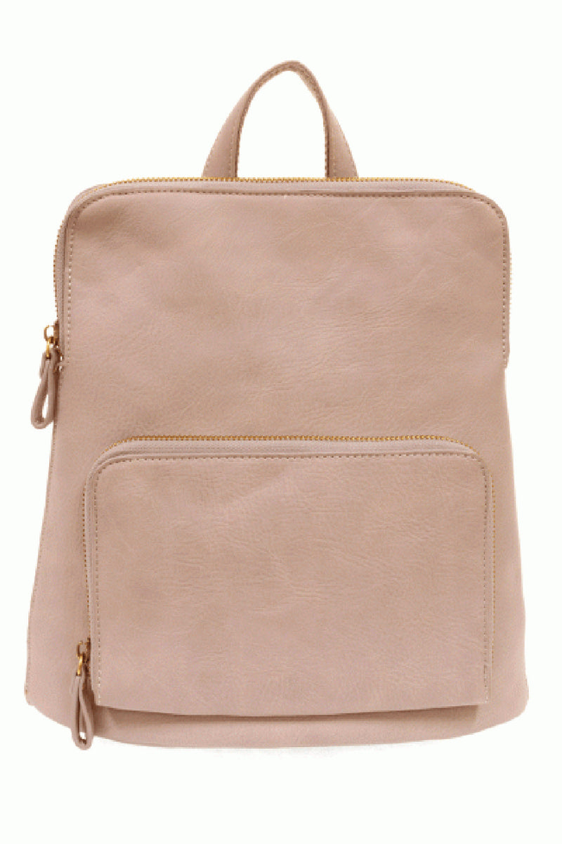 Joy Susan Julia Mini Backpack - Light Pink