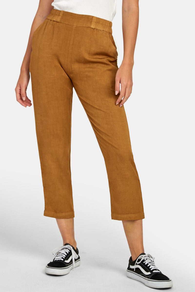 RVCA Manila Pants in Antique Bronze