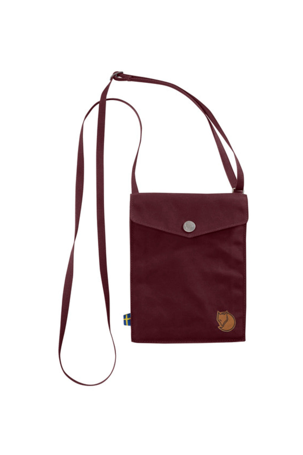 Fjällräven Pocket Shoulder Bag - Dark Garnet