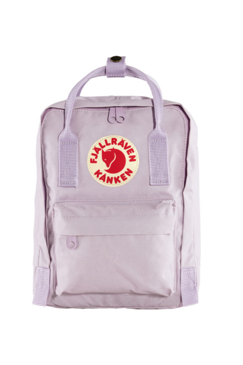 Fjällräven Kånken Mini Backpack in Pastel Lavender