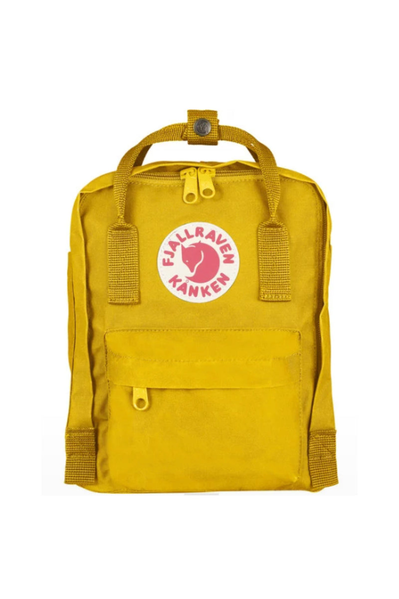Fjällräven Kånken Mini Backpack - Warm Yellow