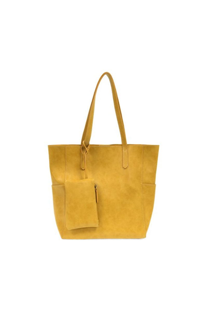 Joy Susan North South Bella Tote - Saddle