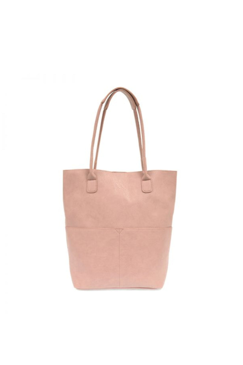 Joy Susan Kelly North South Front Pocket Tote - Blush