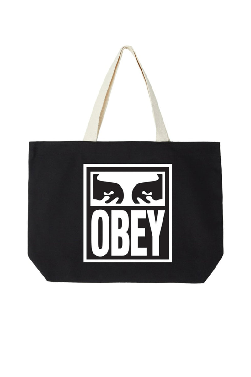 Obey Eyes Icon 2 Tote- Black