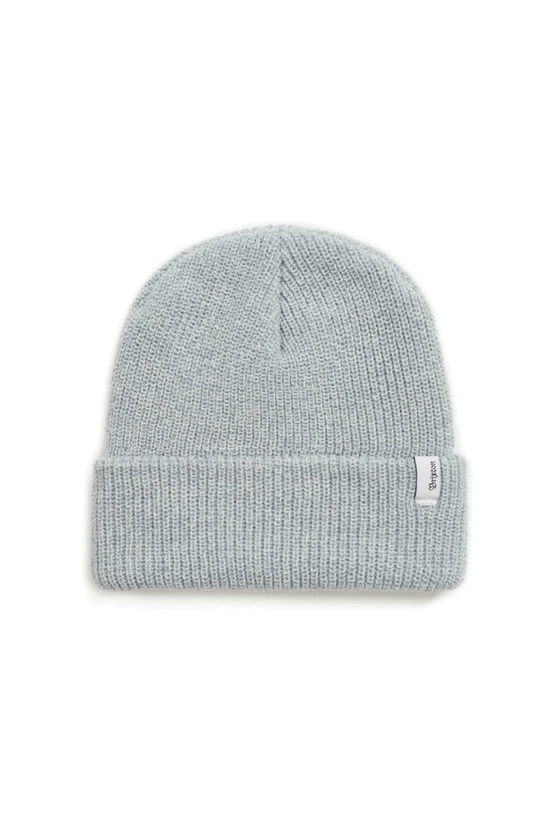Brixton Aspen Beanie in Grey/White