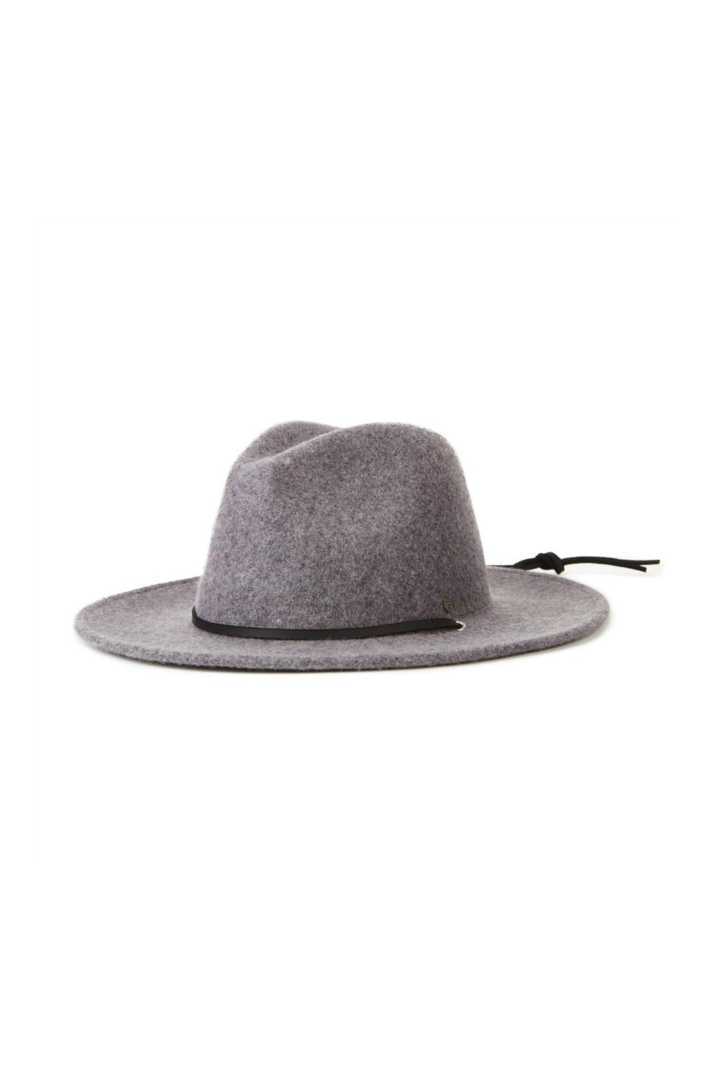 Brixton Field Hat in Light Heather Grey