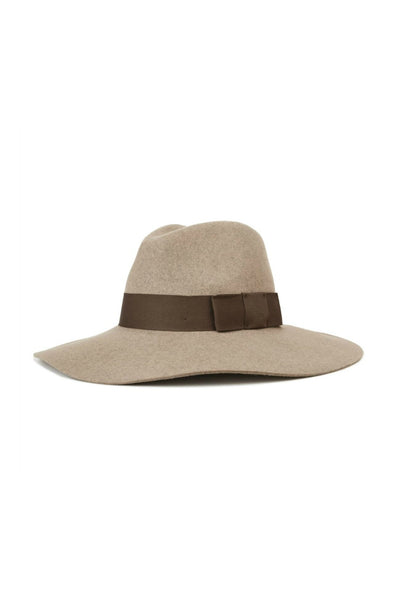 Brixton Piper Hat in Heather Natural
