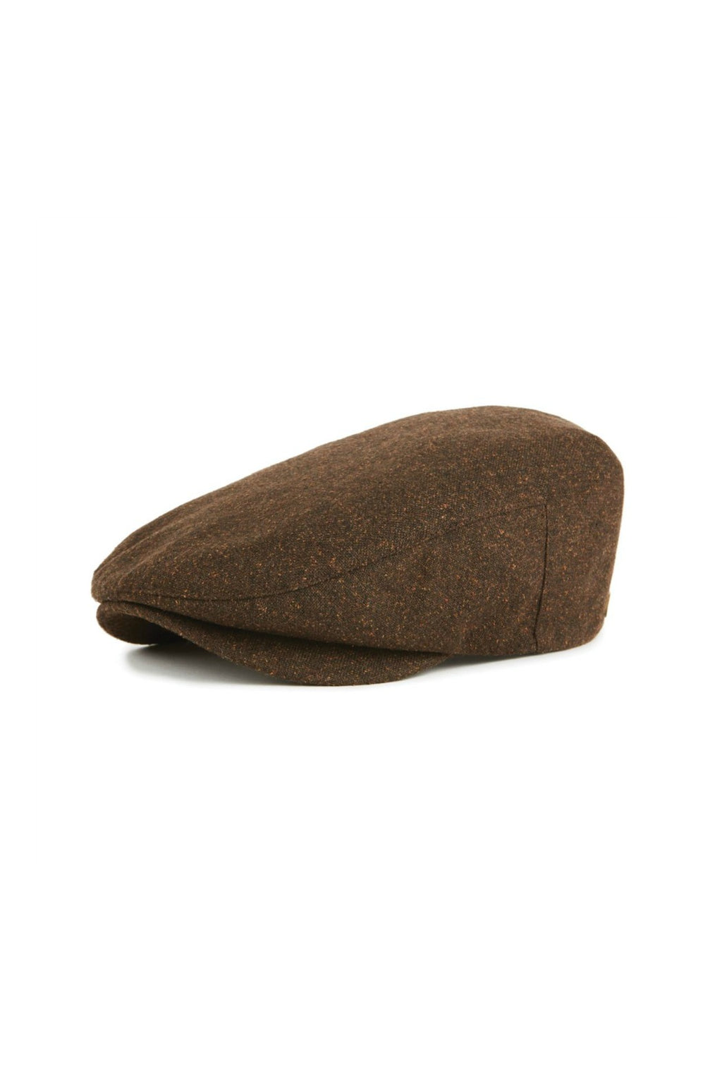 Brixton Barrel Snap Cap in Brown/Rust
