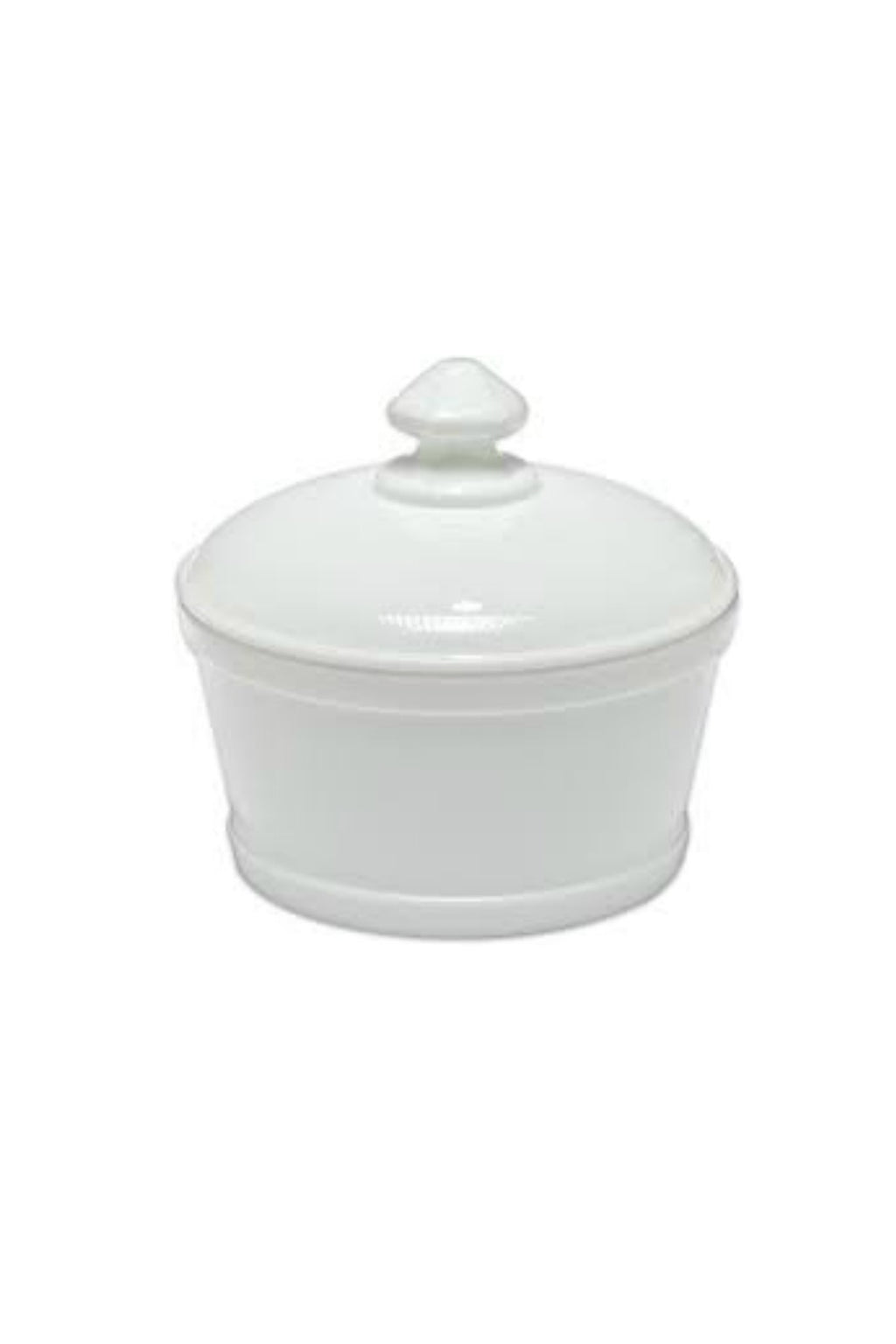 Mosser Glass Butter Tub in Milk