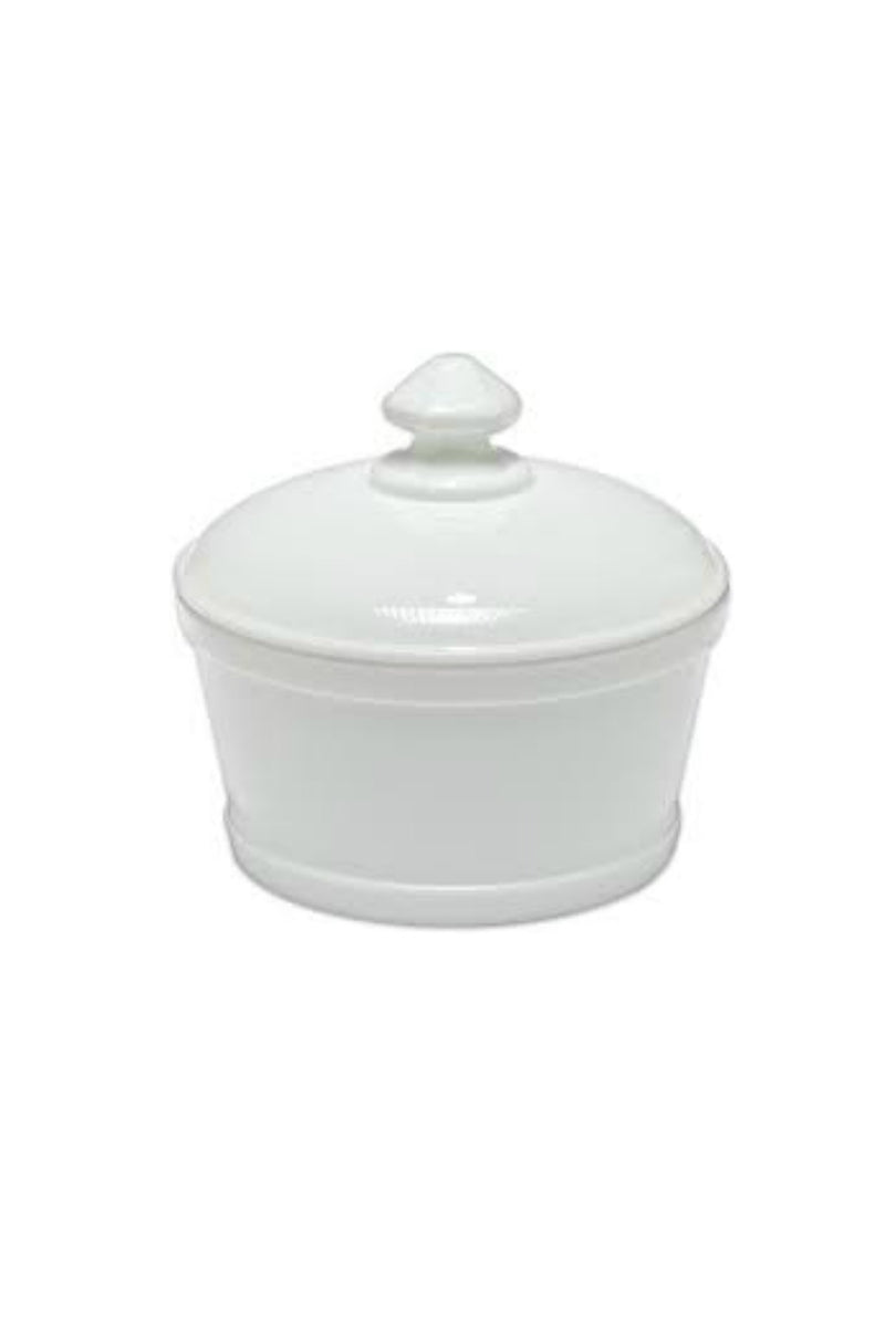 Mosser Glass Butter Tub - Milk