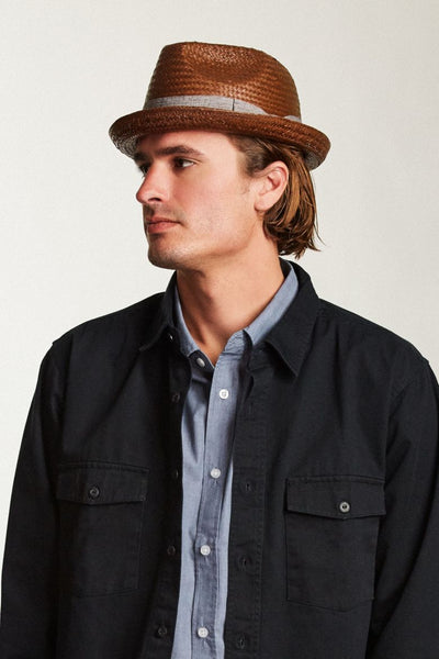 The Castor Fedora - Chocolate
