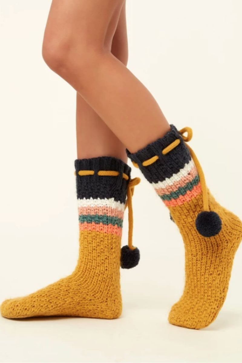 O'Neill Carmel Slipper Sock - Multi Color