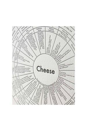 Archie's Press - Cheese Chart