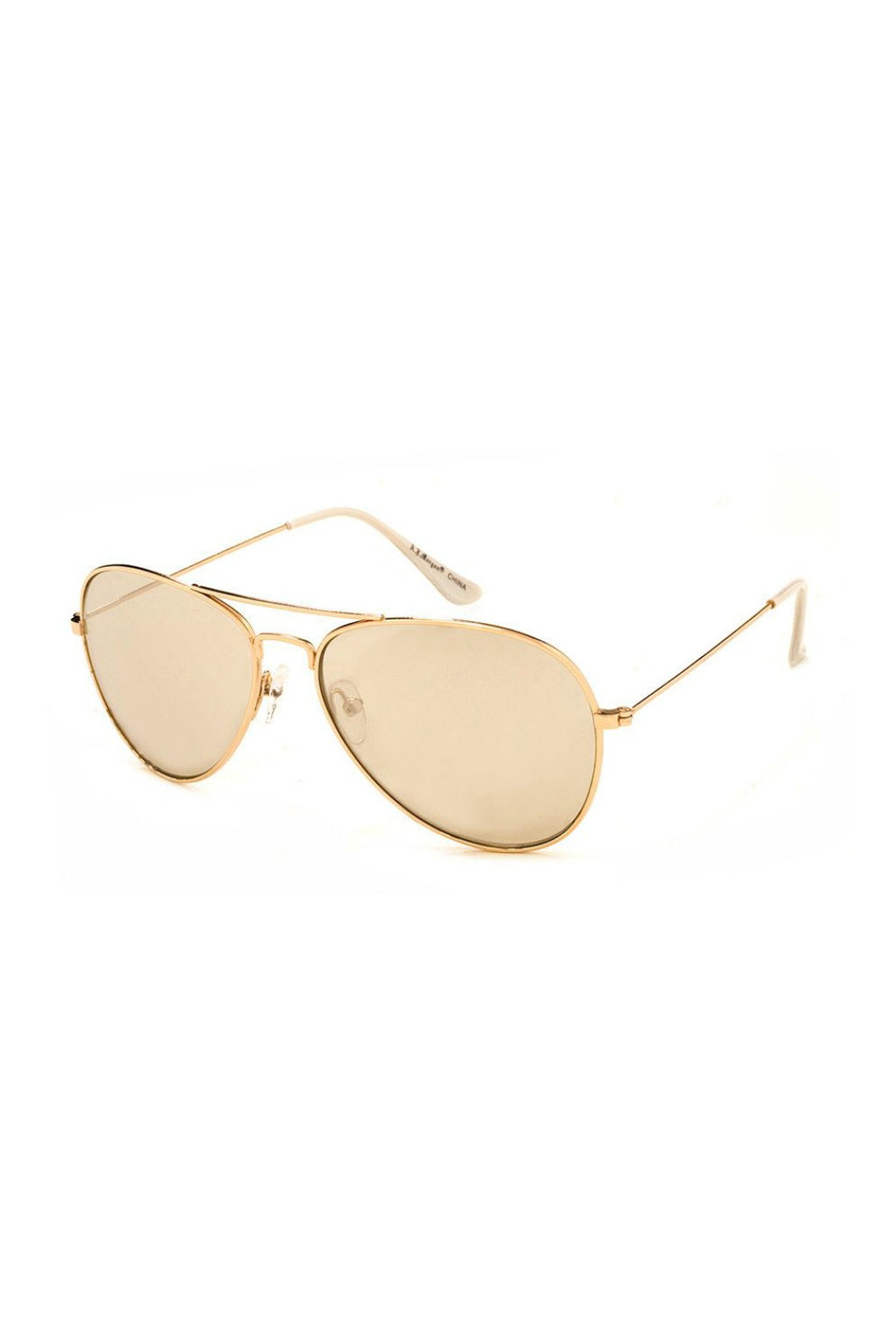 Chris Sunnies - Gold/Gold Mirror