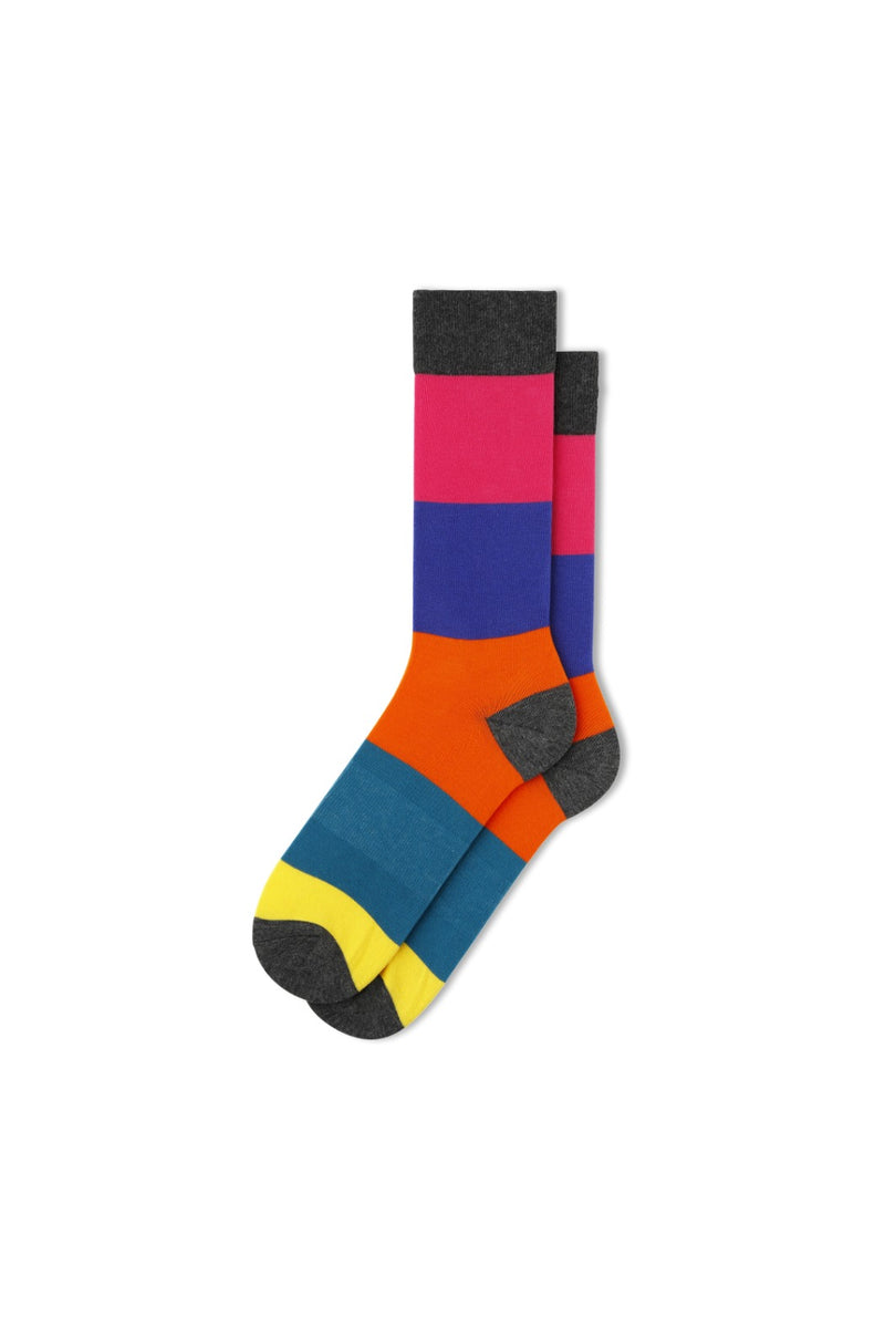 Fun Socks - Color Block Crew