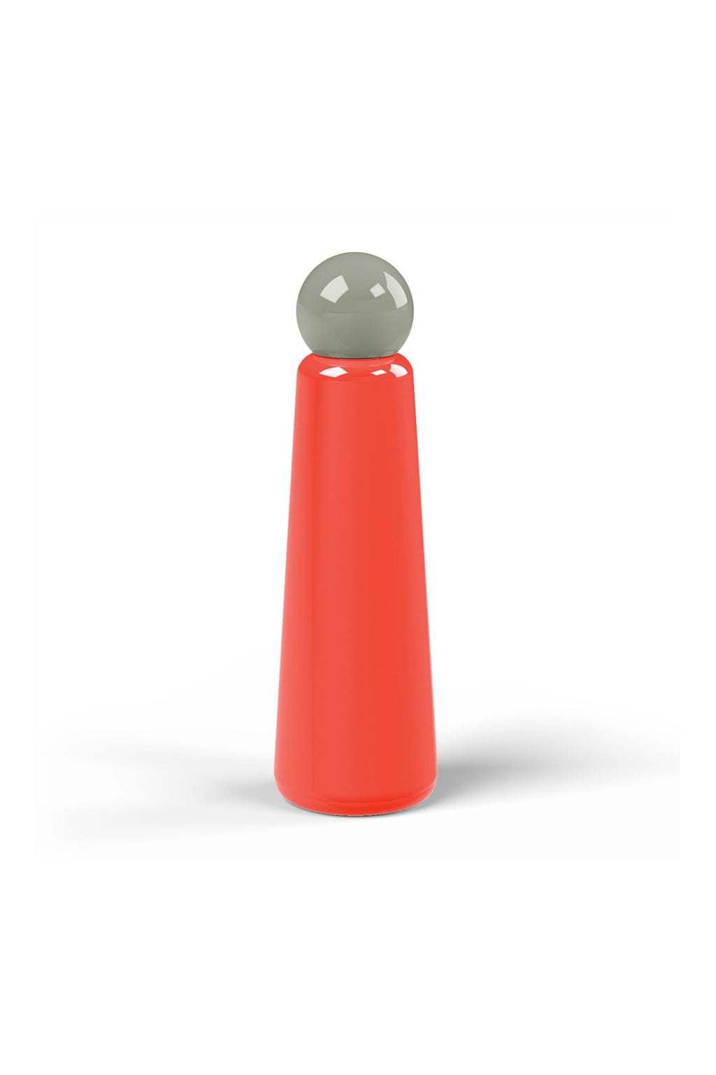 Lund London Skittle Bottle Jumbo - Coral & Dark Grey