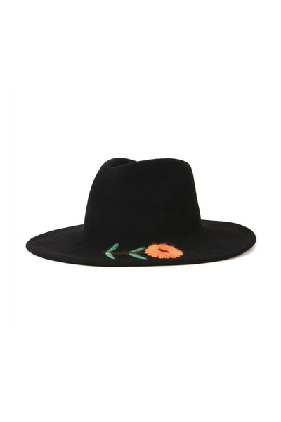 Brixton Corey Fedora in Black