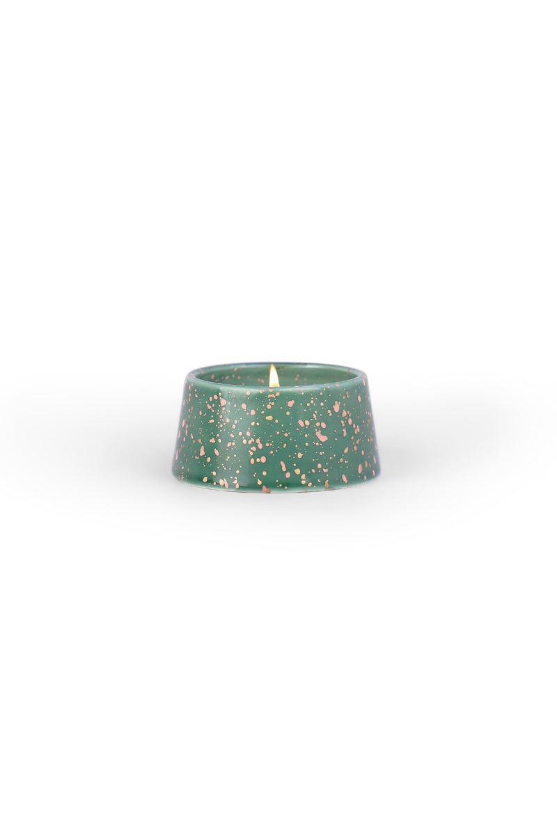 Paddywax Confetti Candle  - Cypress & Suede