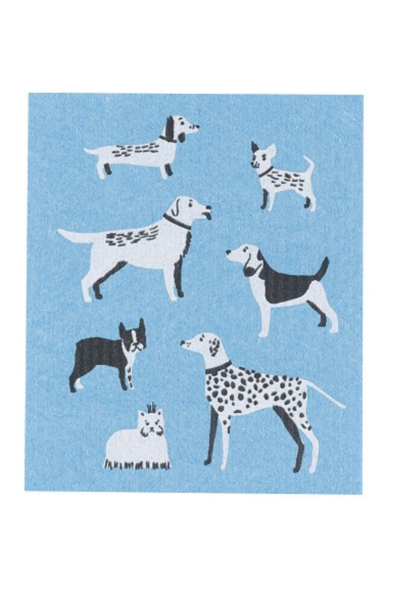 Now Designs Swedish Dishcloth - Dog Days