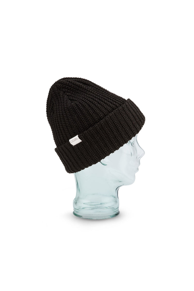 Coal Eddie Beanie in Black