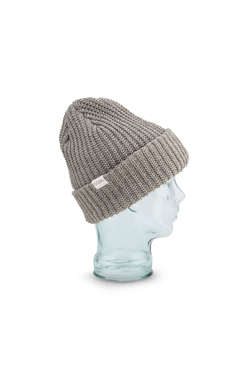 Coal Eddie Beanie - Heather Gray