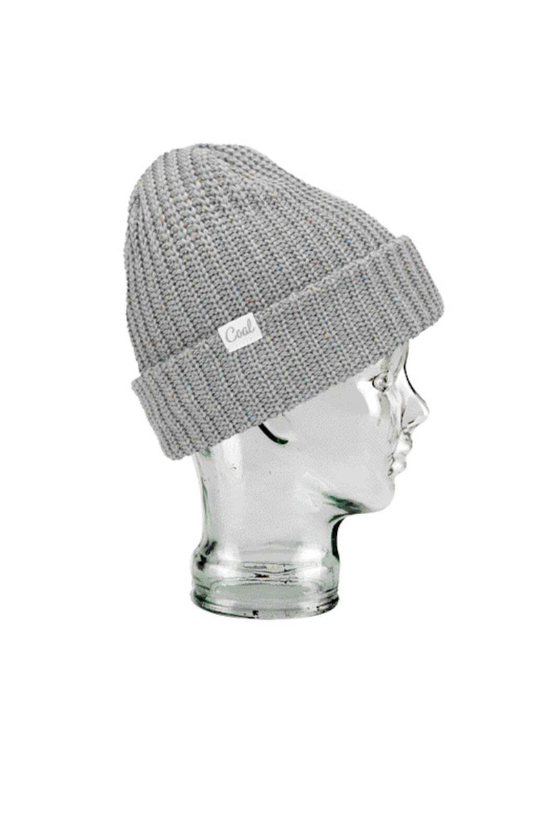 Coal Edith Beanie in Heather Grey