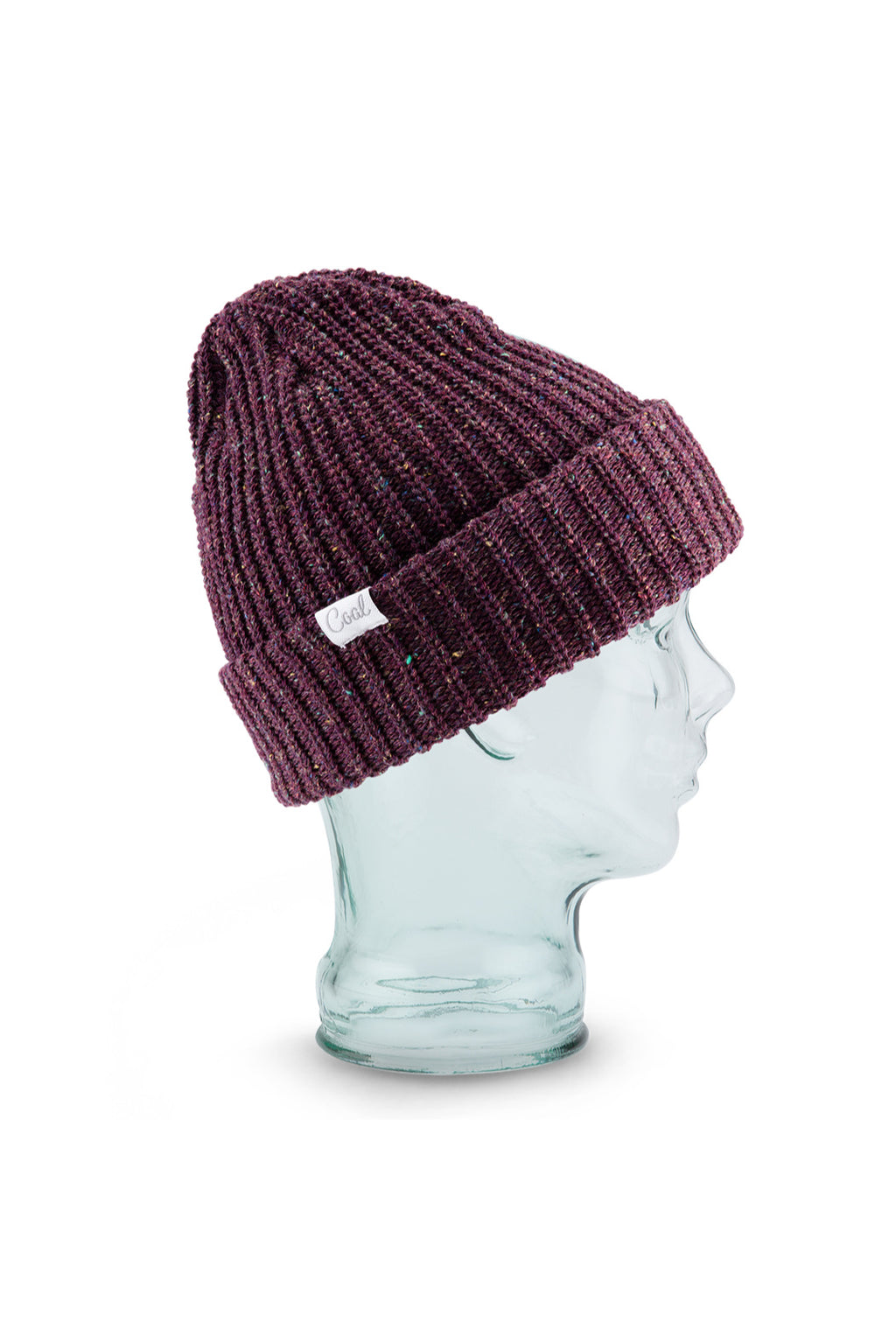 Coal Edith Beanie in Plum
