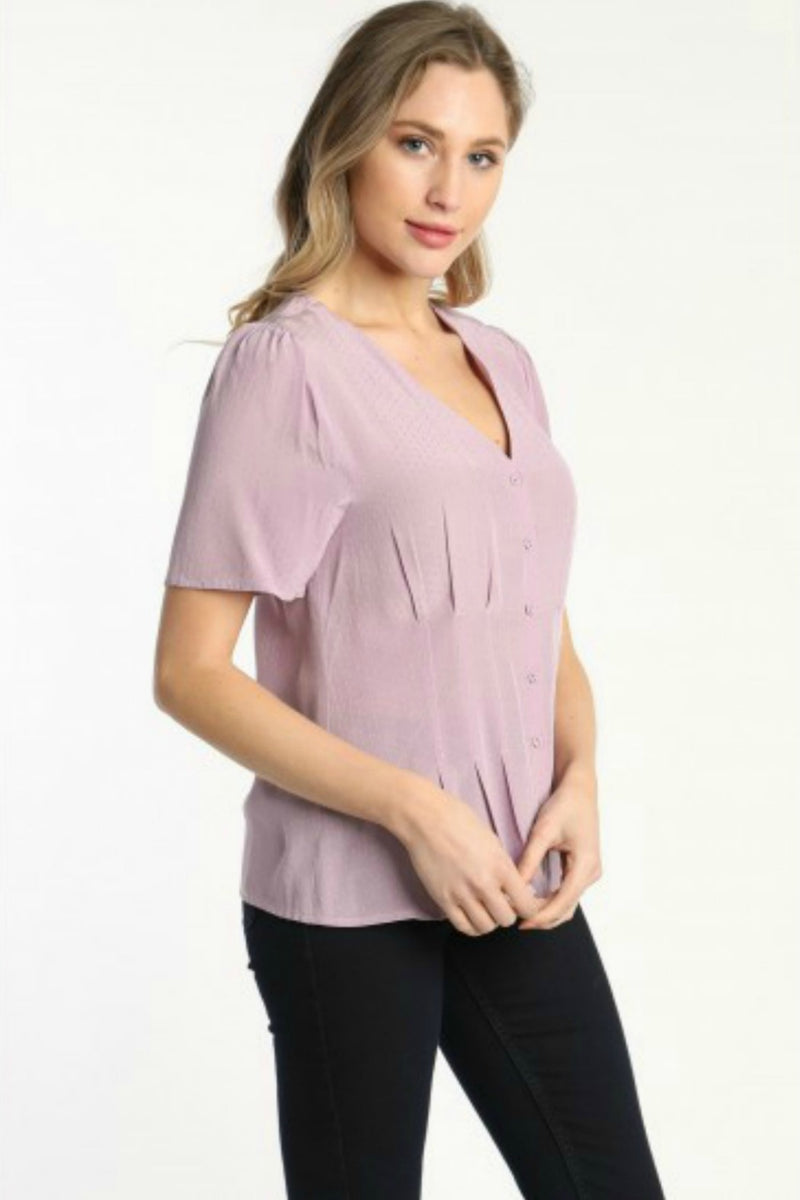 Eva Blouse in Lavender