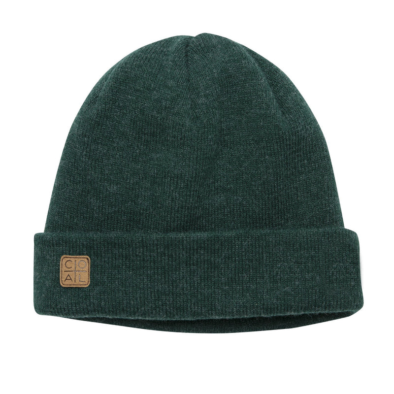 Coal Harbor Beanie - Heather Forest Green